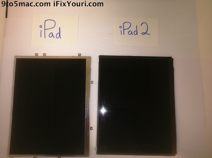 Suposta LCD do iPad 2