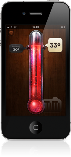 Thermo no iPhone