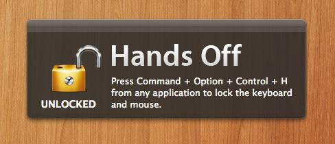 Hands Off no Mac