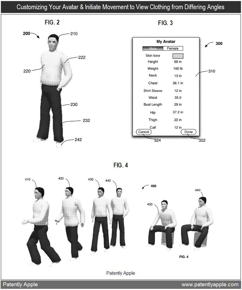 Patente de avatar assistente de compras