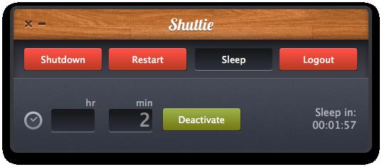 Shuttie no Mac