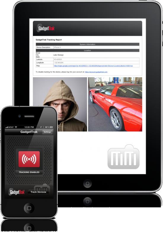 GadgetTrak - iPad e iPhone