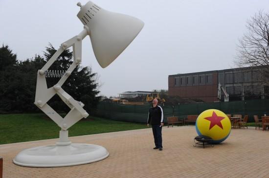 Passeio pela Pixar