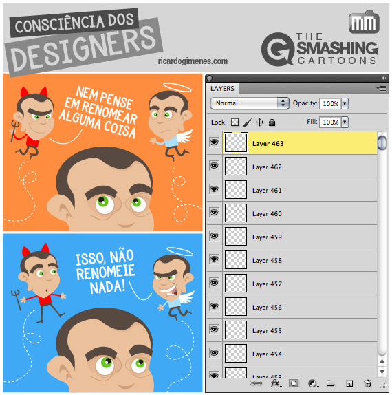 The Smashing Cartoons - Consciencia dos Designers