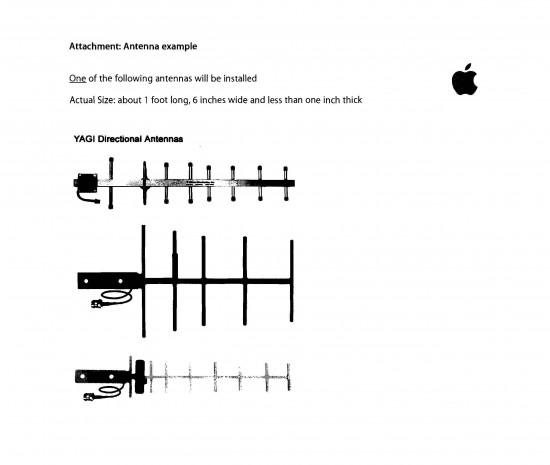 Antenas da Verizon em lojas da Apple