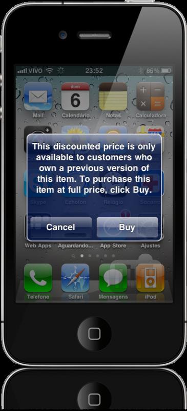 Update na App Store