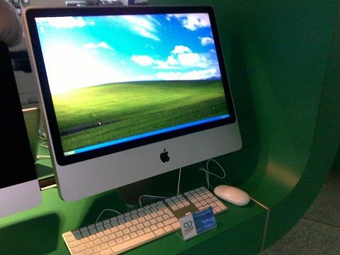 iMac rodando Windows