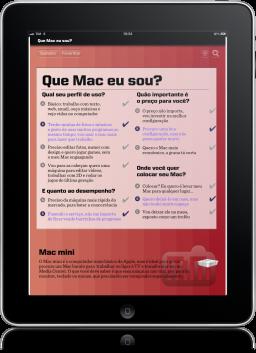 Macmais Especial 3 no iPad