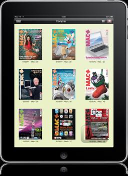Macmais Reader no iPad