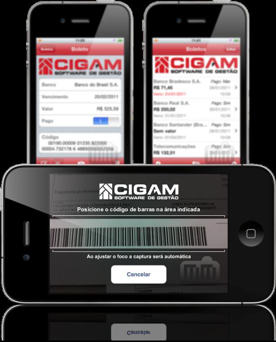 CIGAM Boletos - iPhones