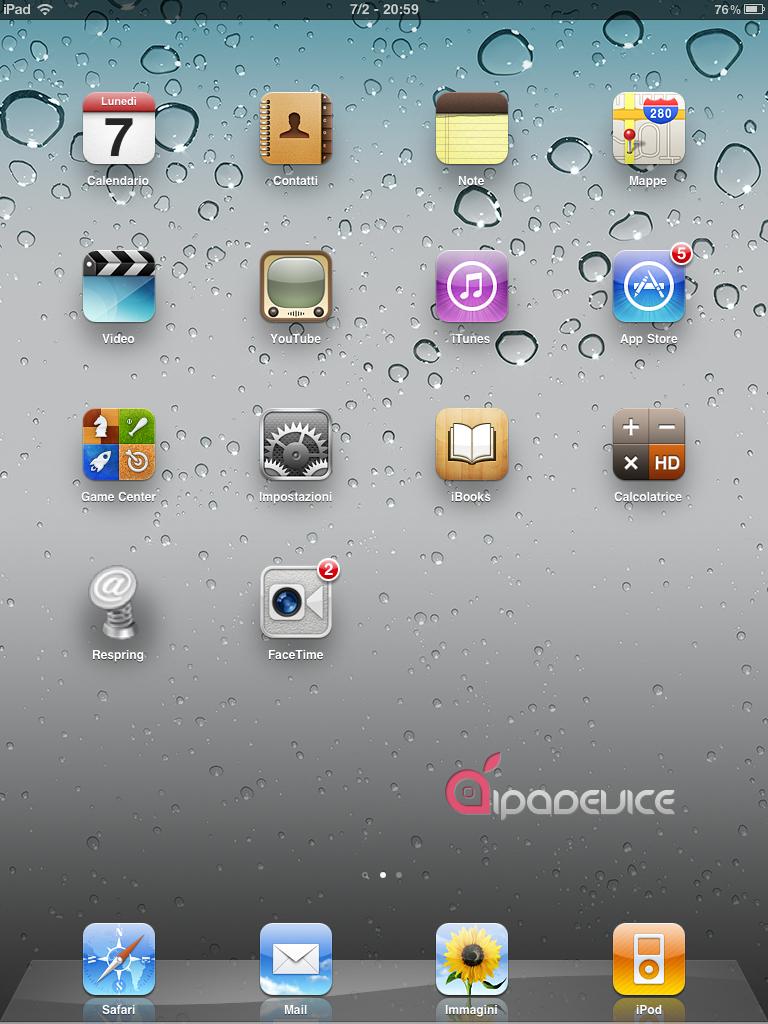FaceTime no iPad