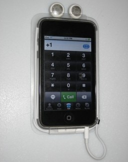 iPod touch transformado em iPhone