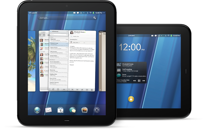 HP TouchPads