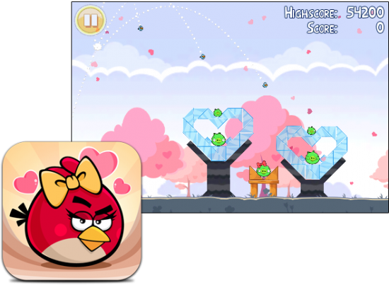 Angry Birds - Valentine