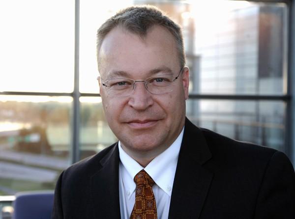 CEO da Nokia, Stephen Elop