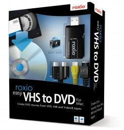 Caixa do Roxio - Easy VHS to DVD