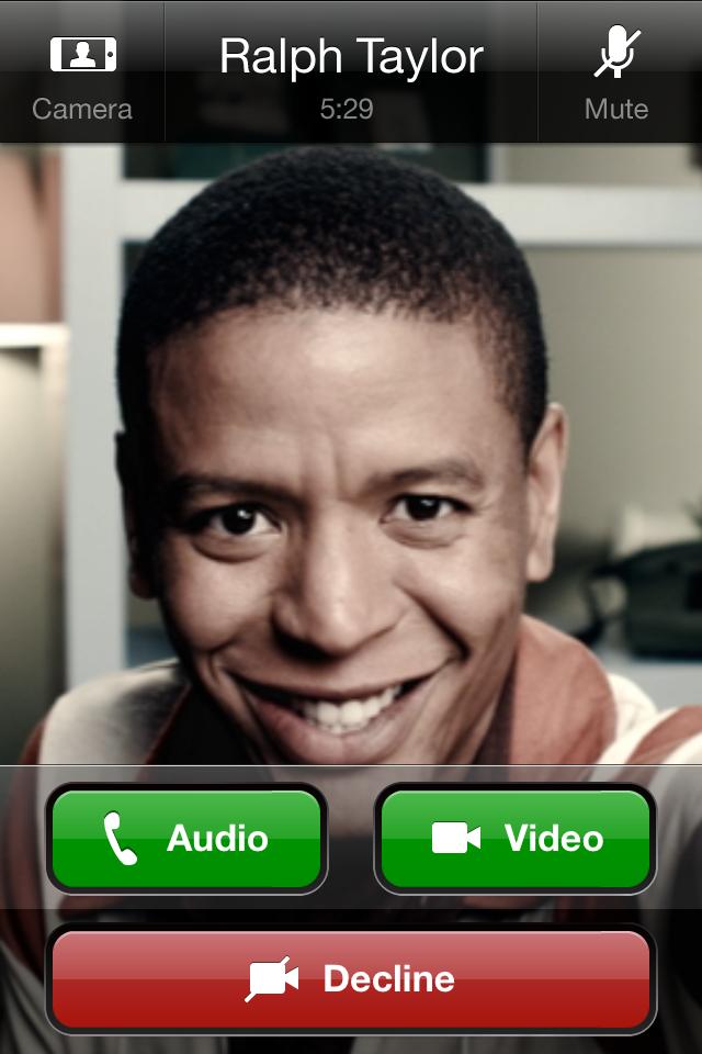 Skype com vídeo no iPhone