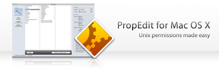 PropEdit para Mac