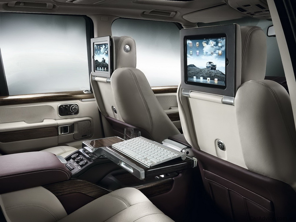 Range Rover Autobiography Ultimate Edition com iPads