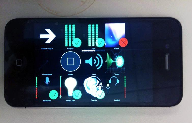 iPhone 4 da Verizon em Test Mode
