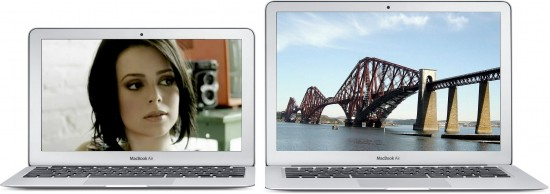MacBooks Air com Sandy Bridge