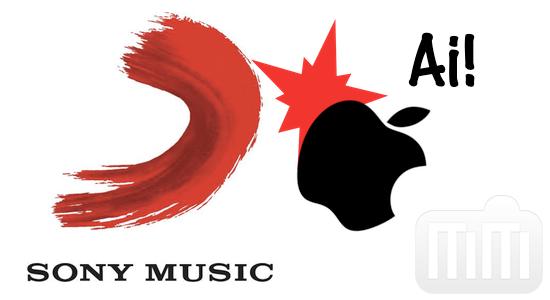 Sony Music versus Apple