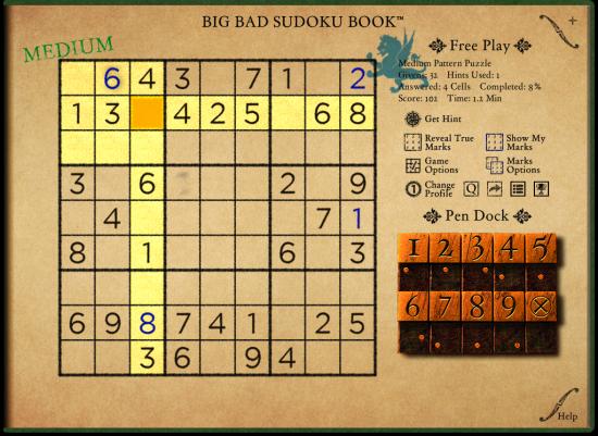 Big Bad Sudoku Book