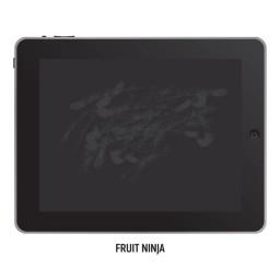 Impressões digitais em um iPad
