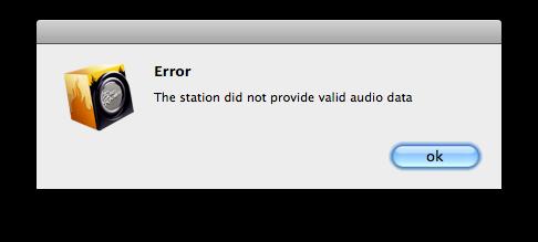 Erro no FireRocker para Mac