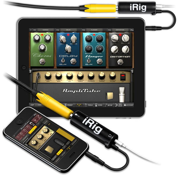 AmpliTube iRig para iPhone e iPad