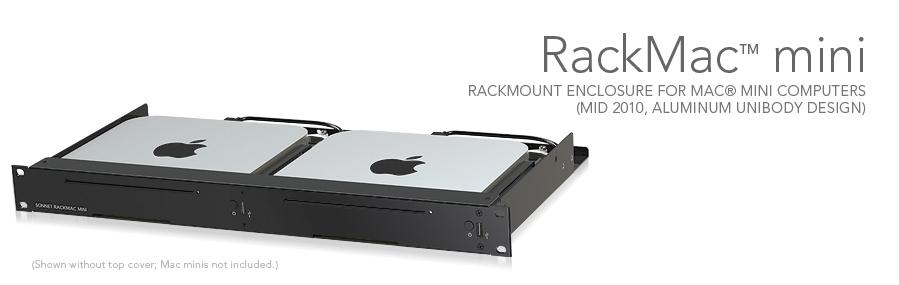 RackMac mini com Macs mini