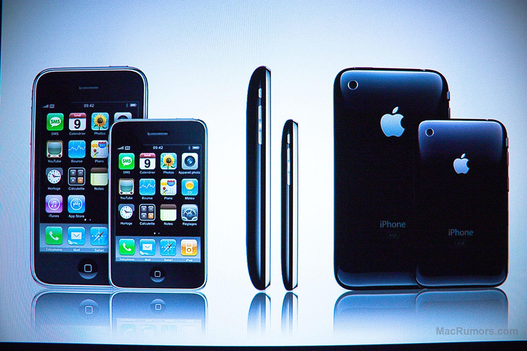 Conceito de iPhone nano