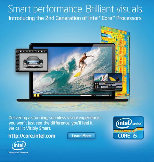 Propaganda da Intel com novo MacBook Pro?