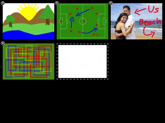 Multitouch Whiteboard