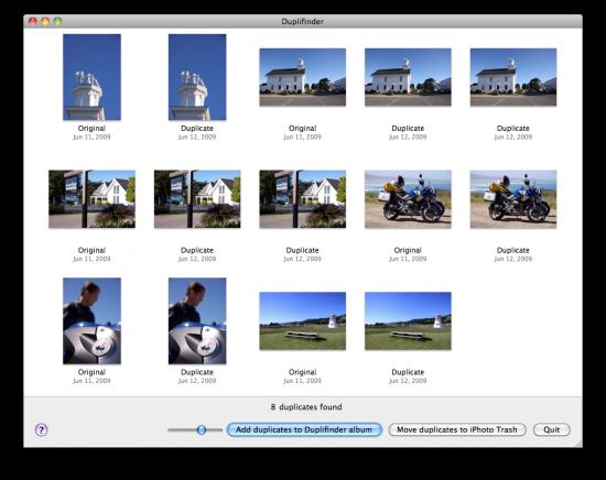 Duplifinder - Mac OS X