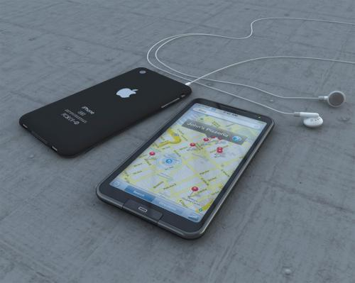 Mockup antigo de iPhone