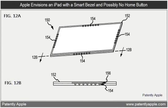 Patente de gadget com moldura microperfurada