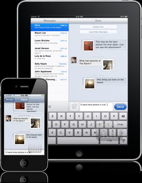 Textie Messaging - iPad e iPhone