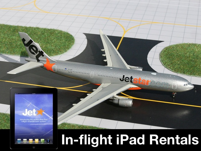 Jetstar Airways - iPad Rentals