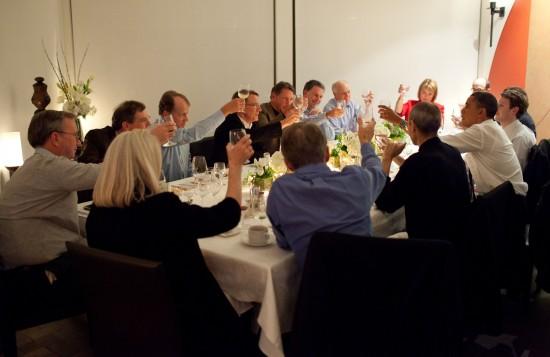 Jantar de executivos do Vale do Silício com Barack Obama