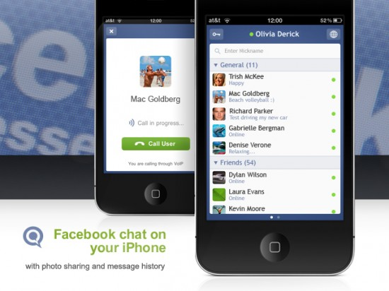 Facebook Messenger no iPhone