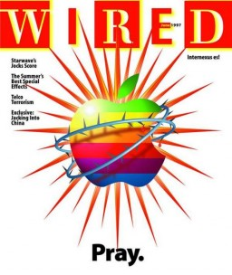 Capa da WIRED sobre derrocada da Apple