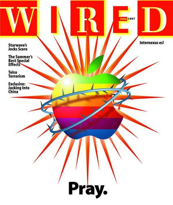 Capa da WIRED sobre derrocada da Apple
