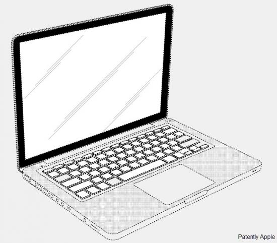 Patente de design do MacBook Pro