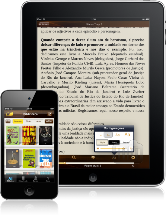 Saraiva Digital Reader - iPad e iPhone