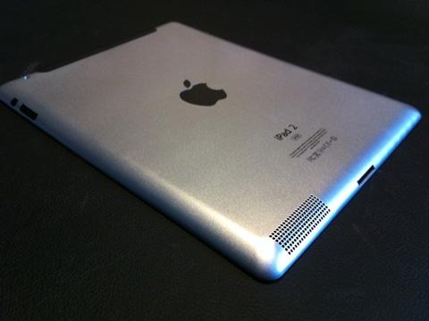Mockup dummy do iPad 2