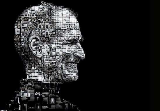 Mosaico de Steve Jobs