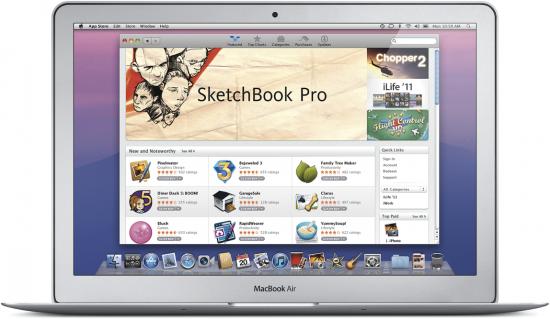 Mac OS X Lion - App Store