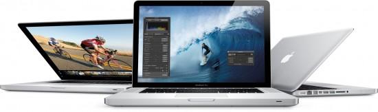 Nova família de MacBooks Pro