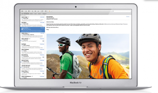 Mail do Mac OS X Lion